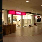 Skyltar till Telia