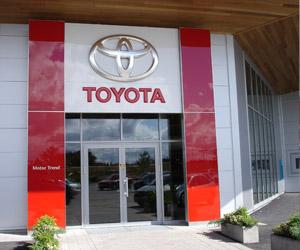 Renovering av Toyotas lokaler i både Skara och Lidköping
